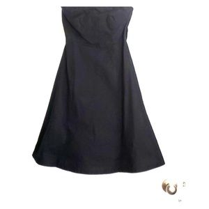 Gap Strapless Black Dress